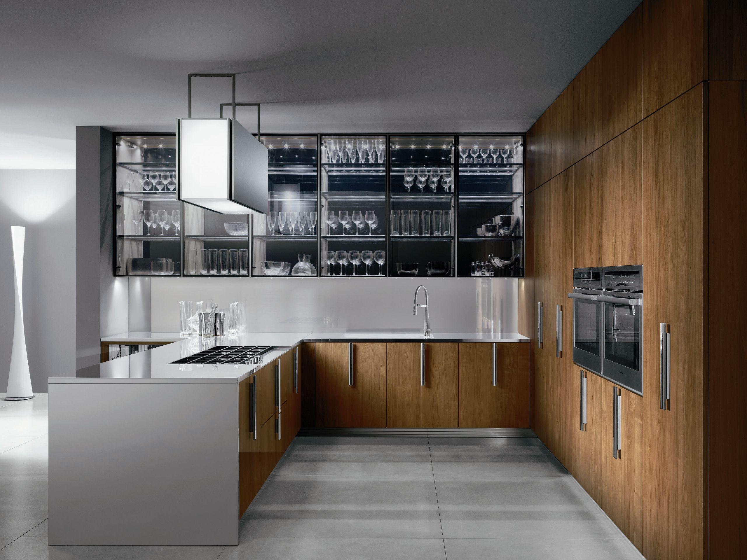 ELEKTRA | Cucina in acciaio By ERNESTOMEDA design Pietro Arosio
