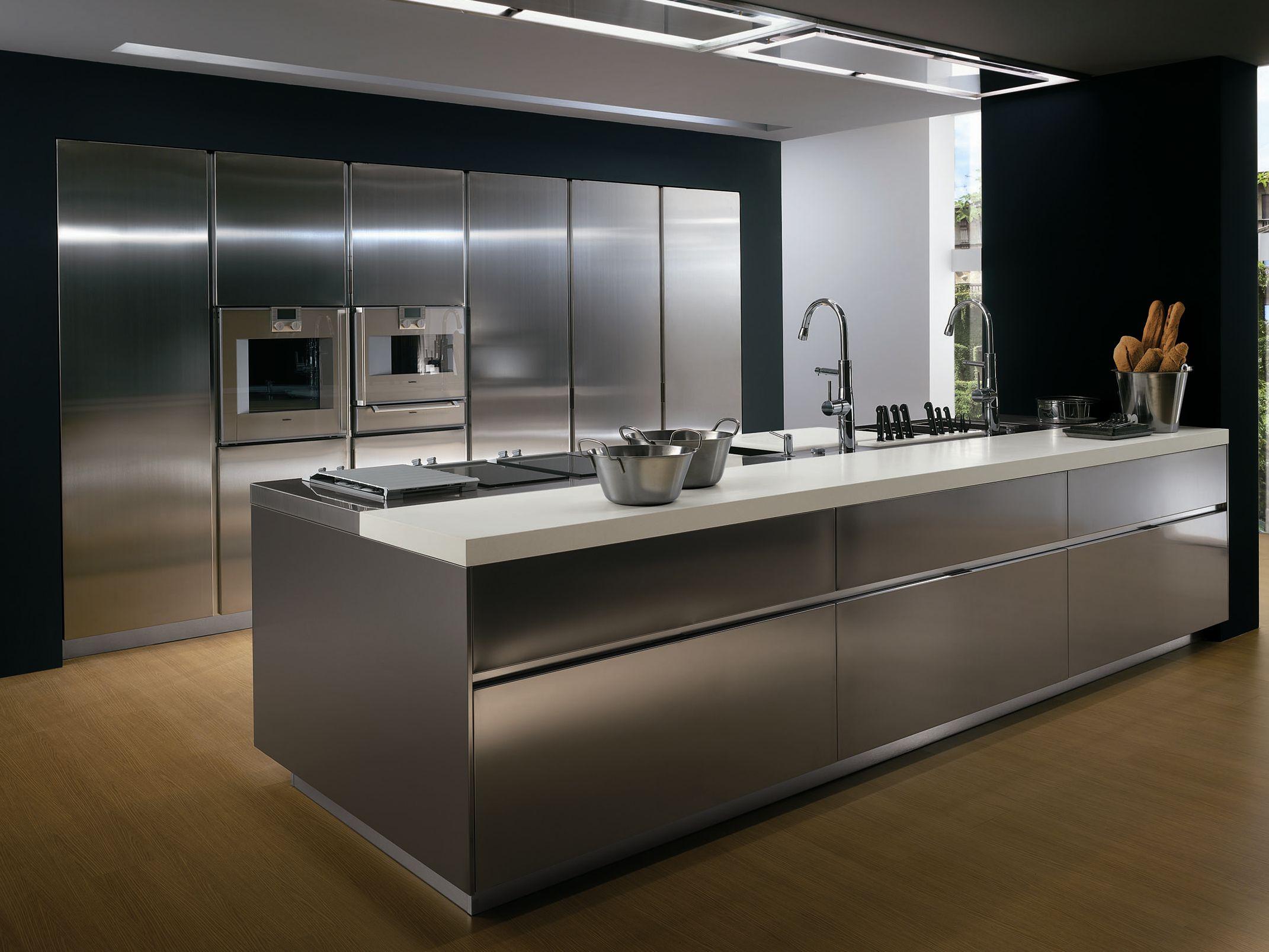 Cucina senza maniglie ICON By ERNESTOMEDA design Giuseppe Bavuso