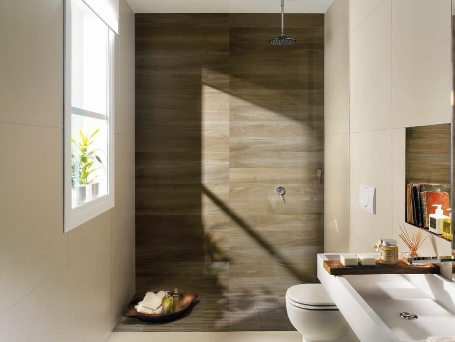 Nuances rivestimento by fap ceramiche - Rivestimento bagno effetto legno ...