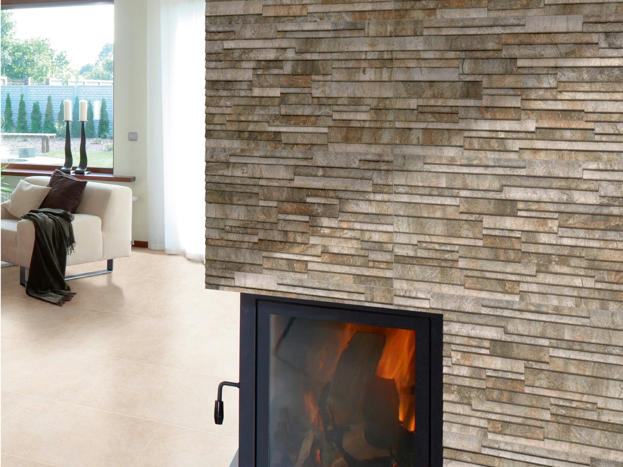 Revestimiento exterior para paredes materiales de - Revestir paredes exteriores ...