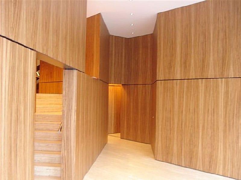 Revestimiento de pared suelo de chapada en madera para - Madera para paredes interiores ...