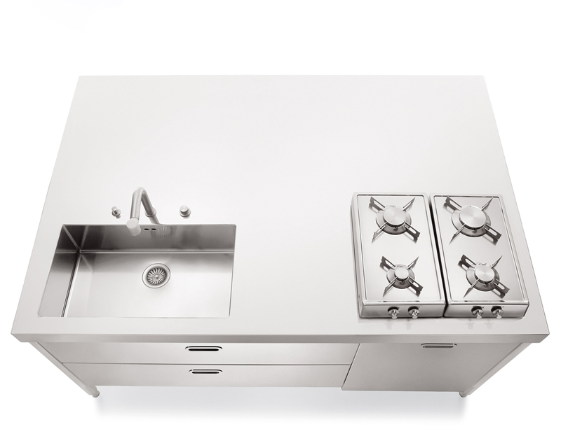 LIBERI IN CUCINA | Cucina By ALPES-INOX