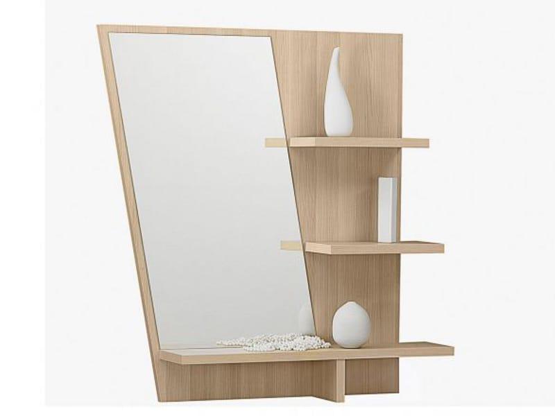 Зеркало с полочками shannon erable - купить в интернет-магаз.