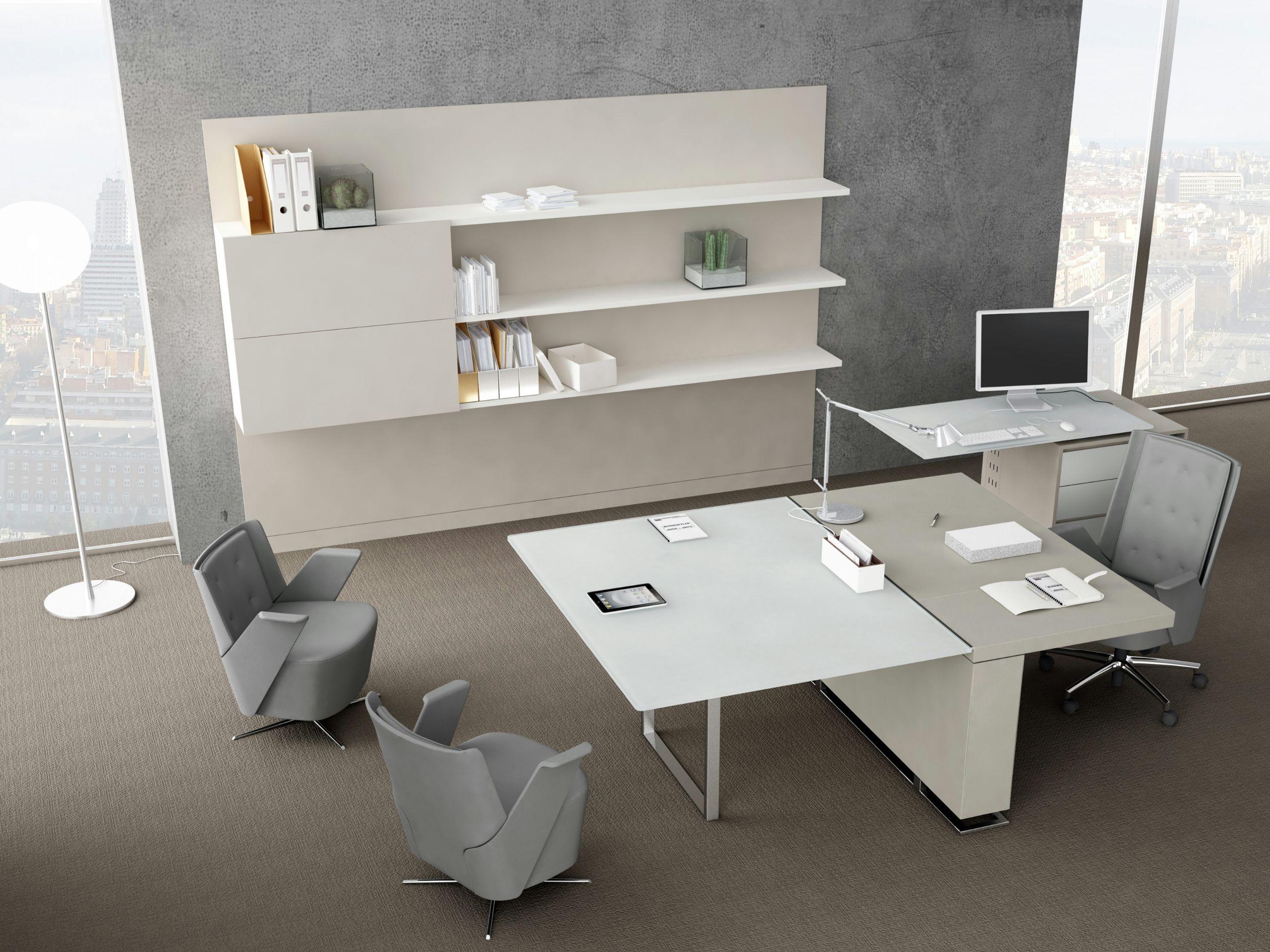 Libreria ufficio modulare in legno BOISERIE By ESTEL GROUP