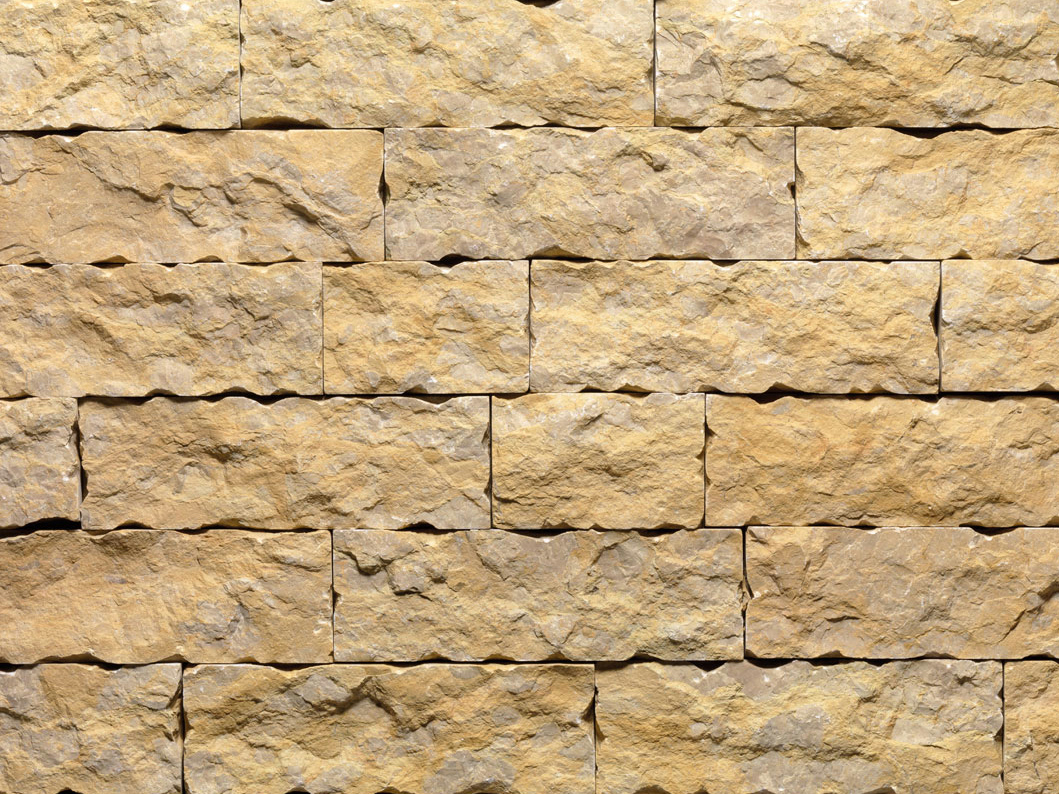 Giallo reale lm revestimiento de pared de piedra natural - Piedra natural pared ...