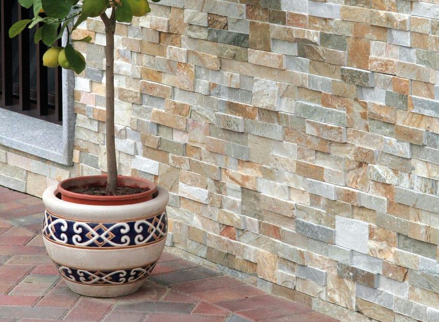 Scaglia revestimiento de pared de piedra natural by b b - Piedra natural para paredes interiores ...
