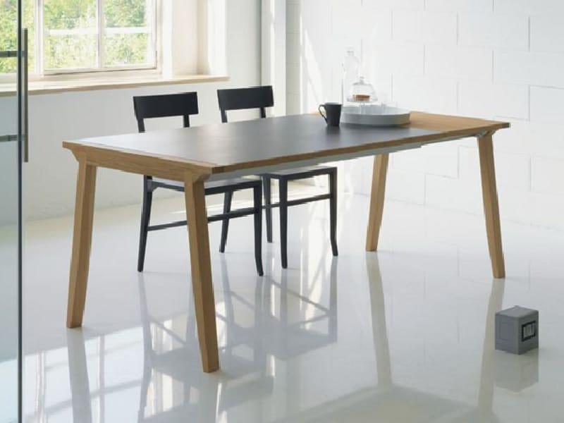 Table À Manger Extensible En Bois - Table extensibleà manger en bois PIGRECO By Linfa Design