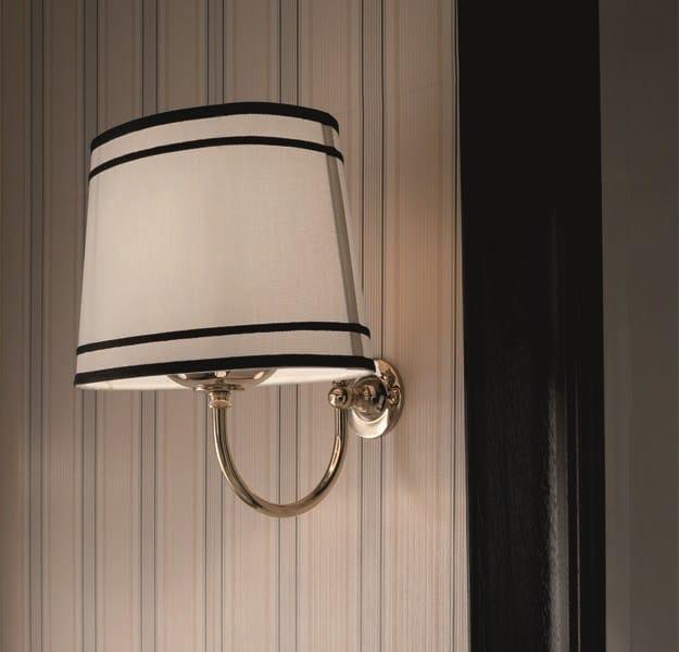 APPLIQUE BAGNO IN TESSUTO IN STILE CLASSICO BLACK CLOUD  LAMPADA PARETE BY GENTRY HOME