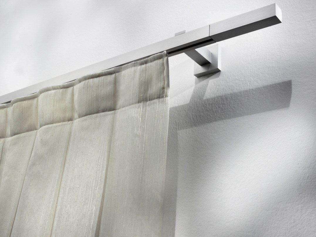 contemporary style aluminium curtain rod pasitea aluminium curtain rod by scaglioni. Black Bedroom Furniture Sets. Home Design Ideas