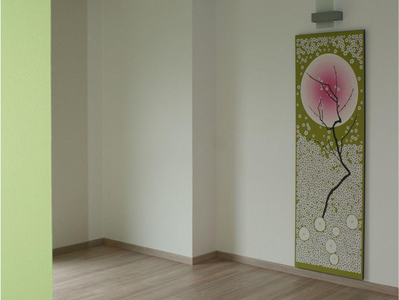 Papier peint lé unique CERISIER By CONCEPTUWALL