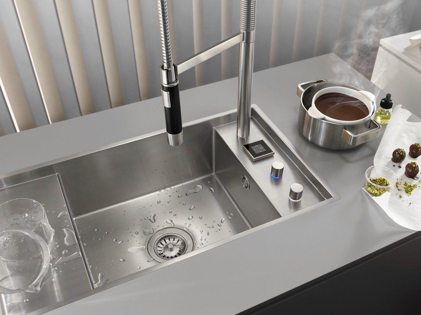 Sistema integrato miscelatore lavello da cucina eunit for Prodotti da cucina