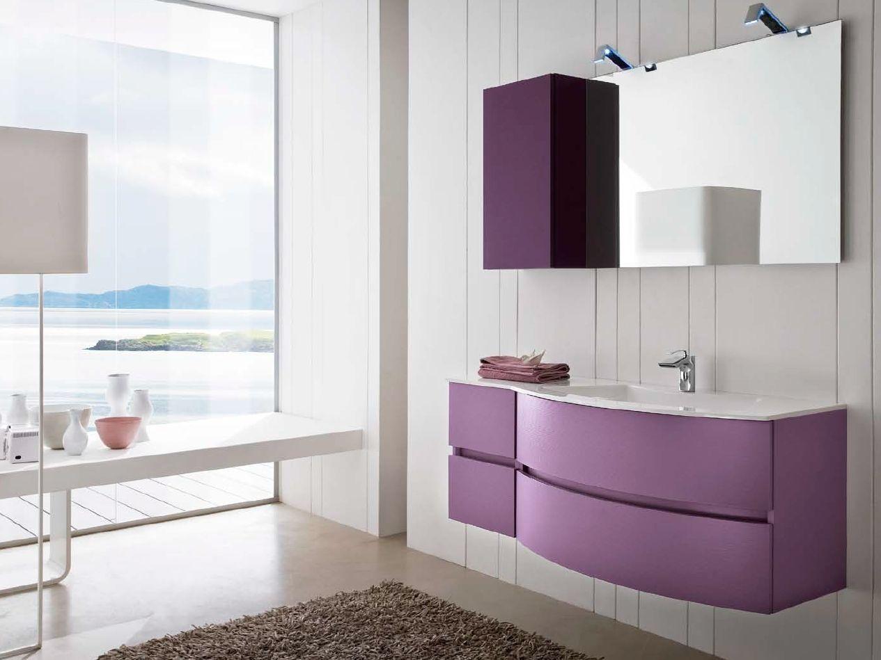 bathroom furniture set 58 by rab arredobagno - Brand Arredo Bagno