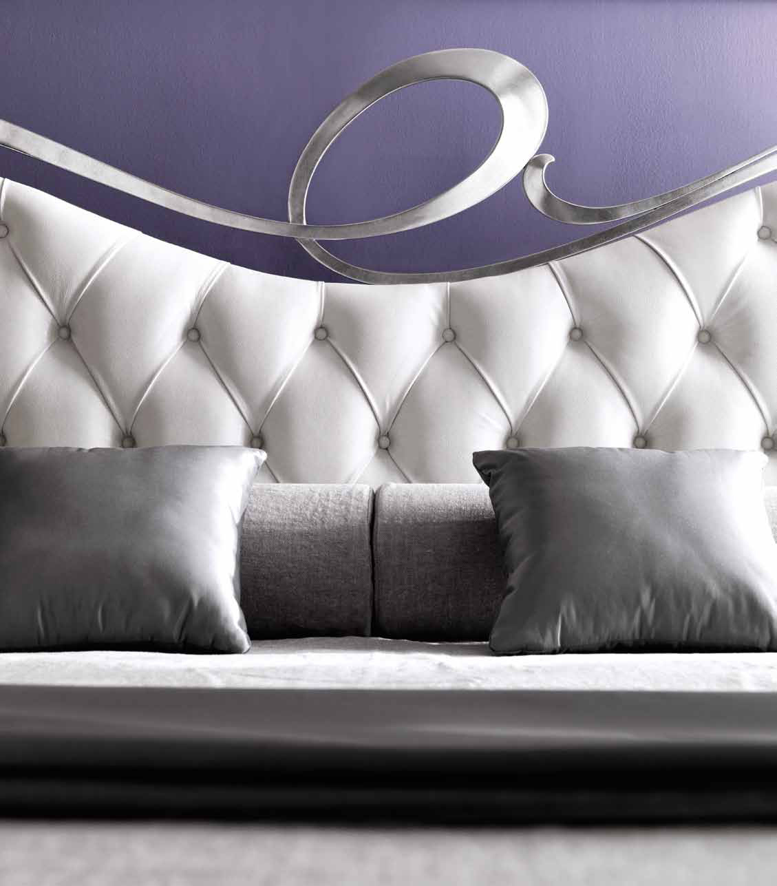 Headboards Double Bed Double Bed With Upholstered Headboard Romeocortezari