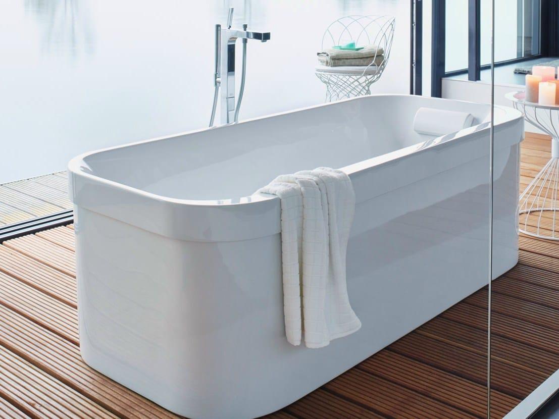 D Code Drop In Acrylic Bathtub By Duravit - Bathtub Ideas