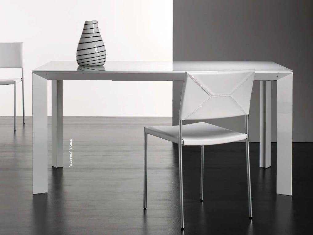 Tavolo allungabile rettangolare KIME By Bonaldo design Bartoli Design