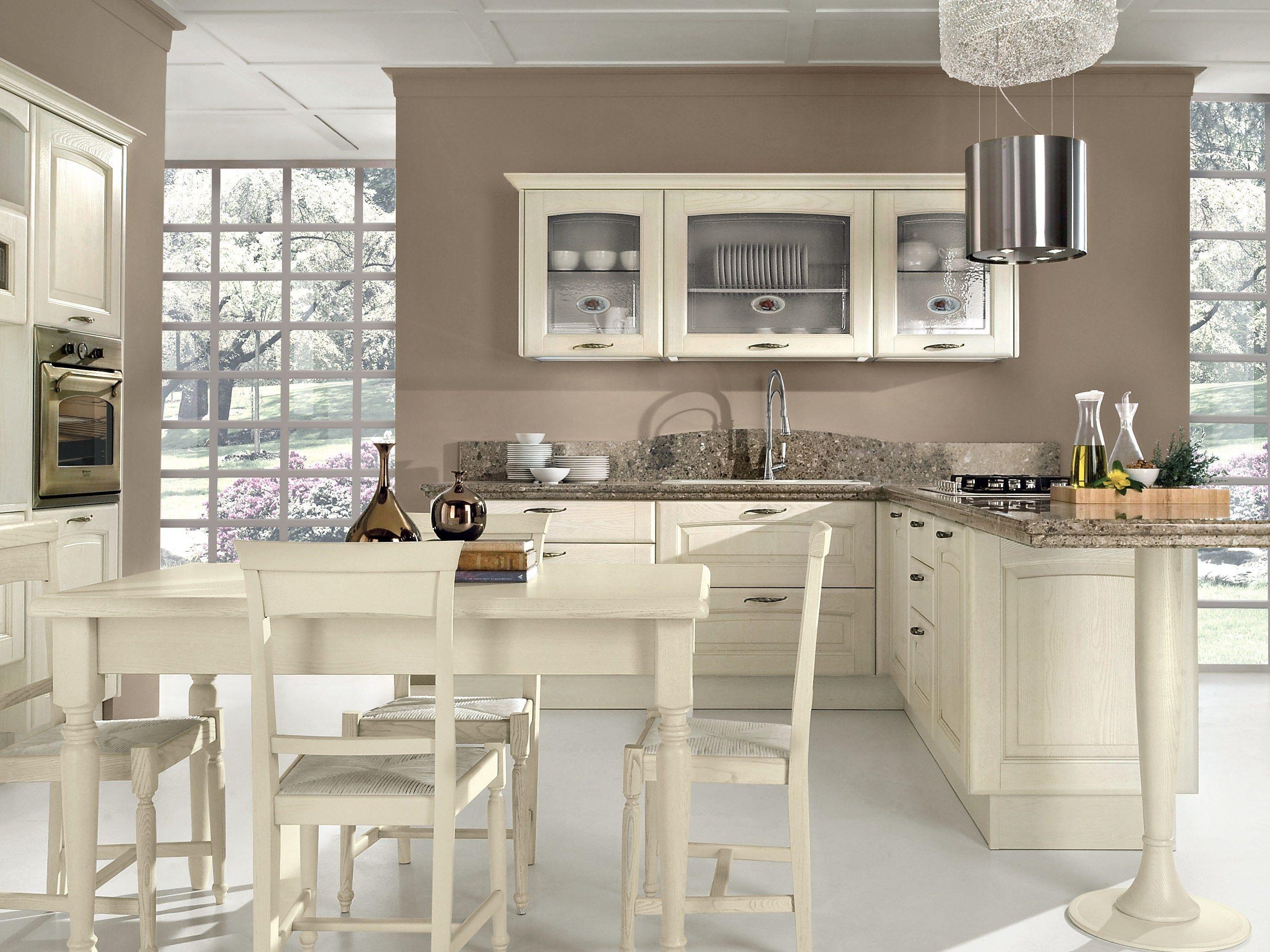 Veronica decap kitchen by cucine lube - Cucine classiche avorio ...