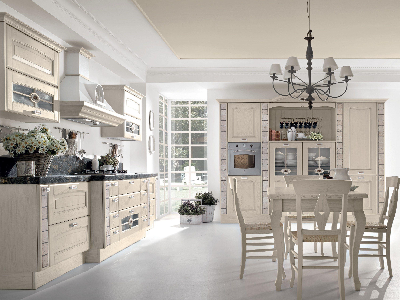 VERONICA | Walnut kitchen By Cucine Lube
