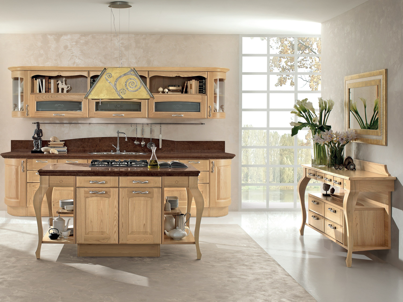 Cucina Legno. Beautiful La Cucina Vintage Luesito Di Una Artigianale ...