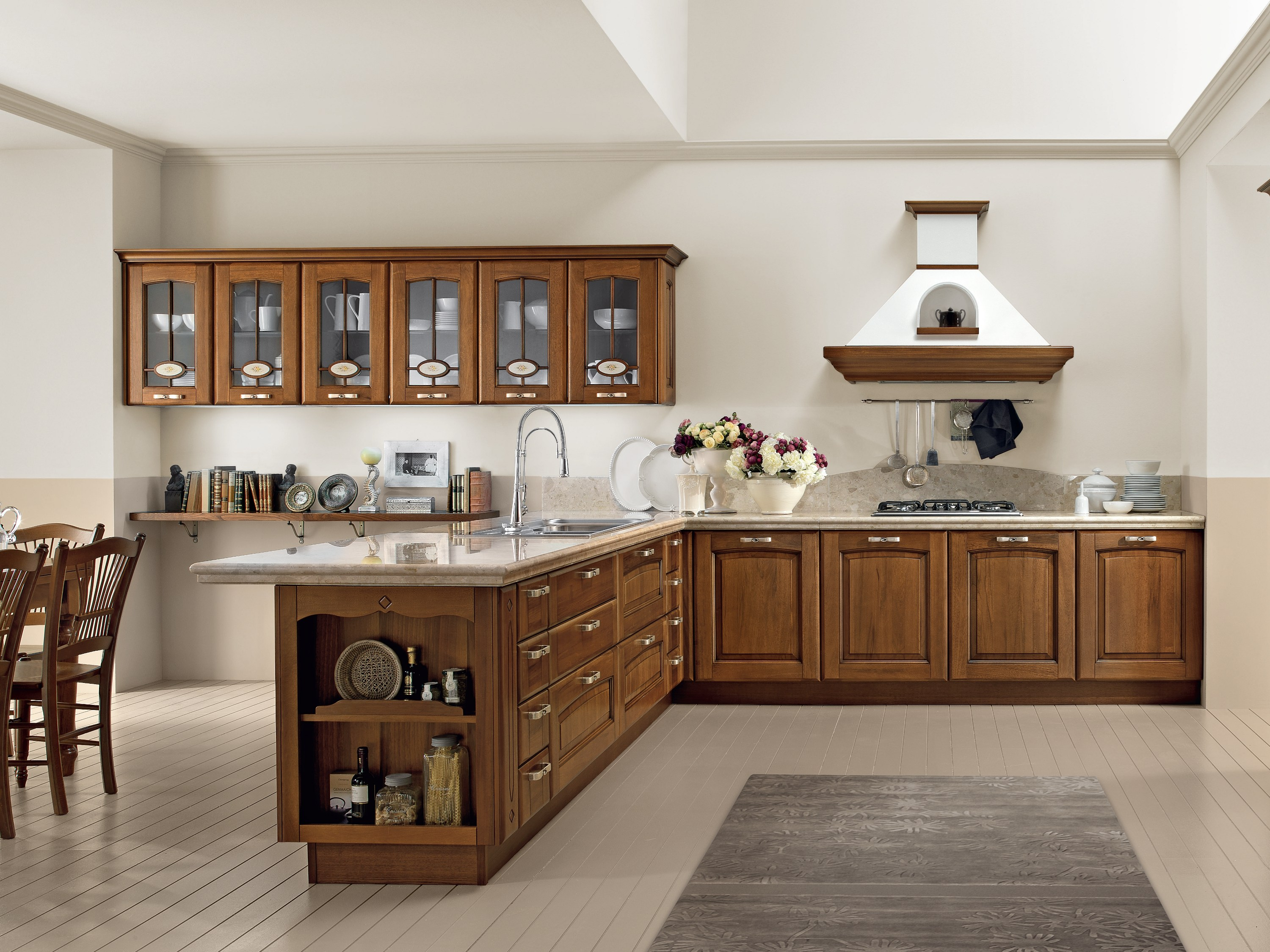 VERONICA | Cucina in noce By Cucine Lube