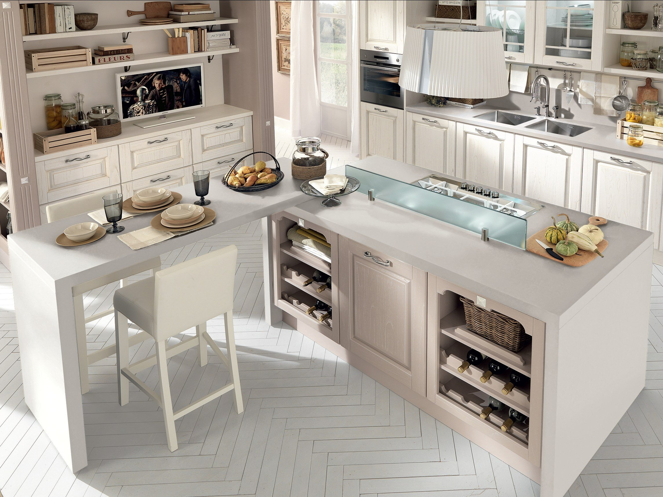 Awesome tavoli cucina lube pictures home interior ideas - Cucina pamela lube ...