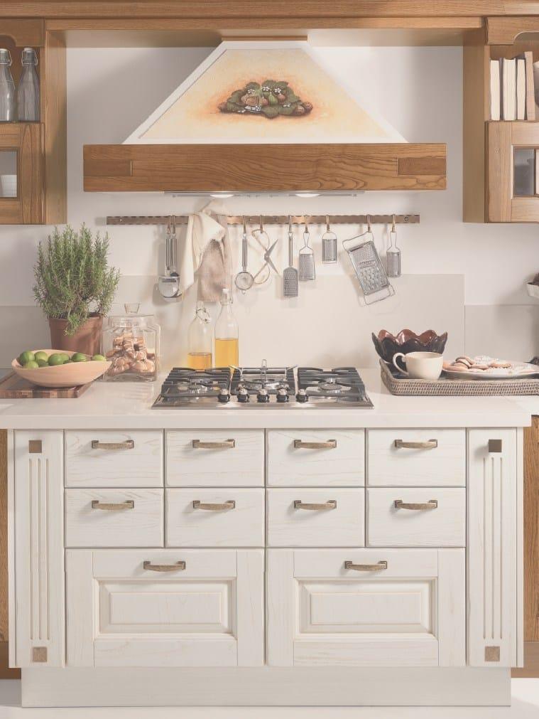LAURA | Küche aus Holz By Cucine Lube