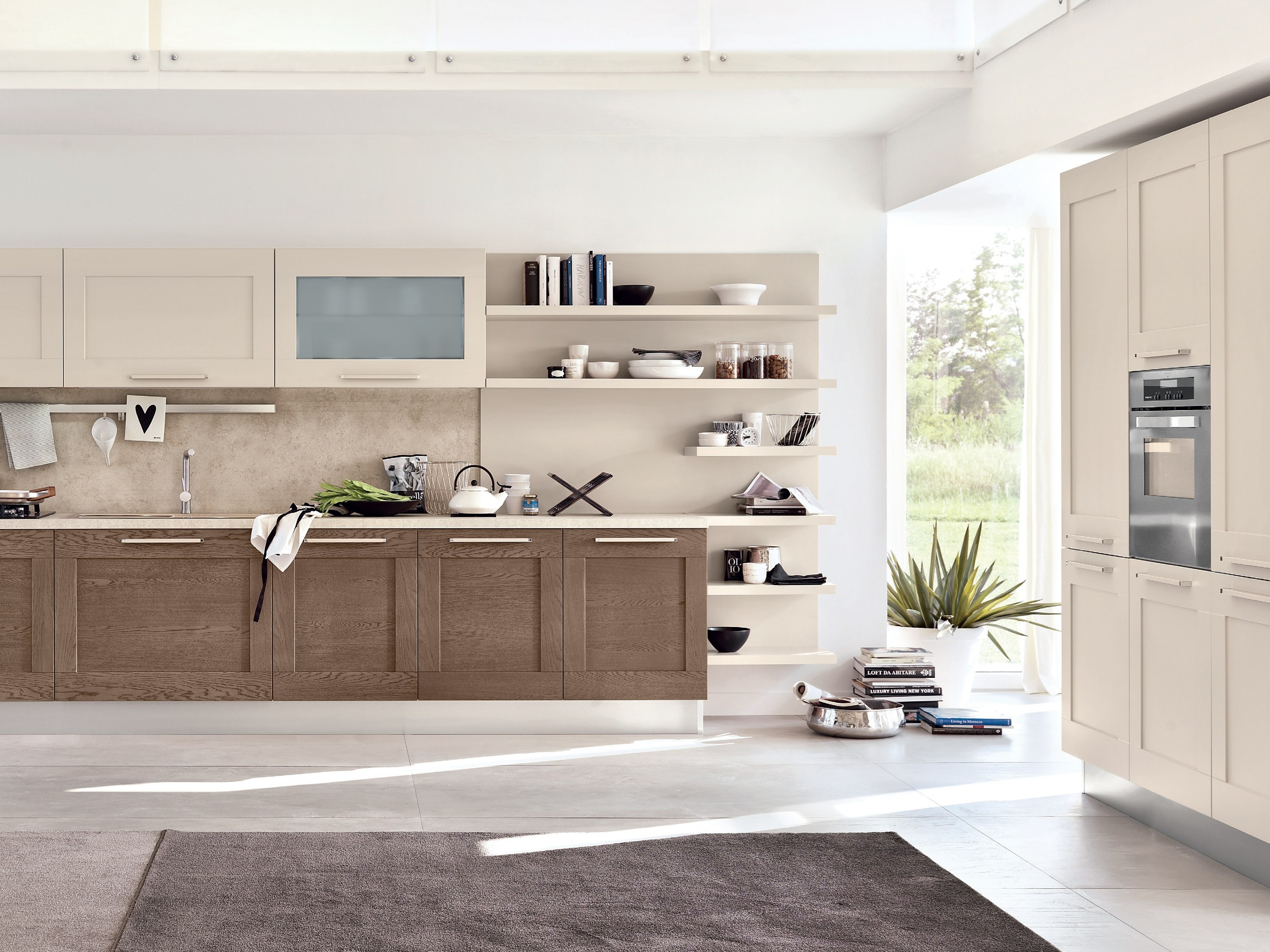 Gallery Kitchen With Handles By Cucine Lube Design Studio Ferriani