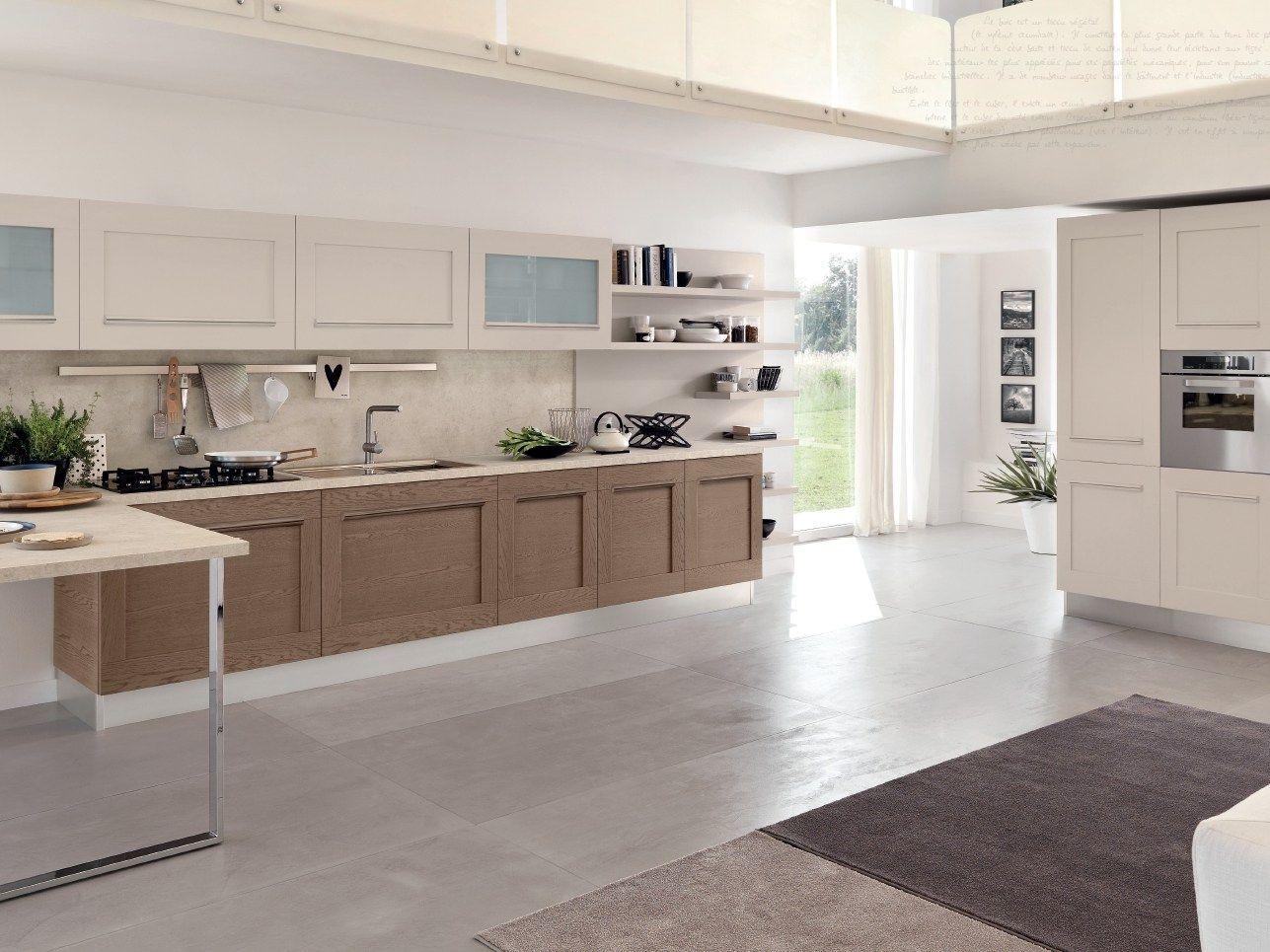 Gallery linear kitchen by cucine lube design studio ferriani for Linear kitchen design