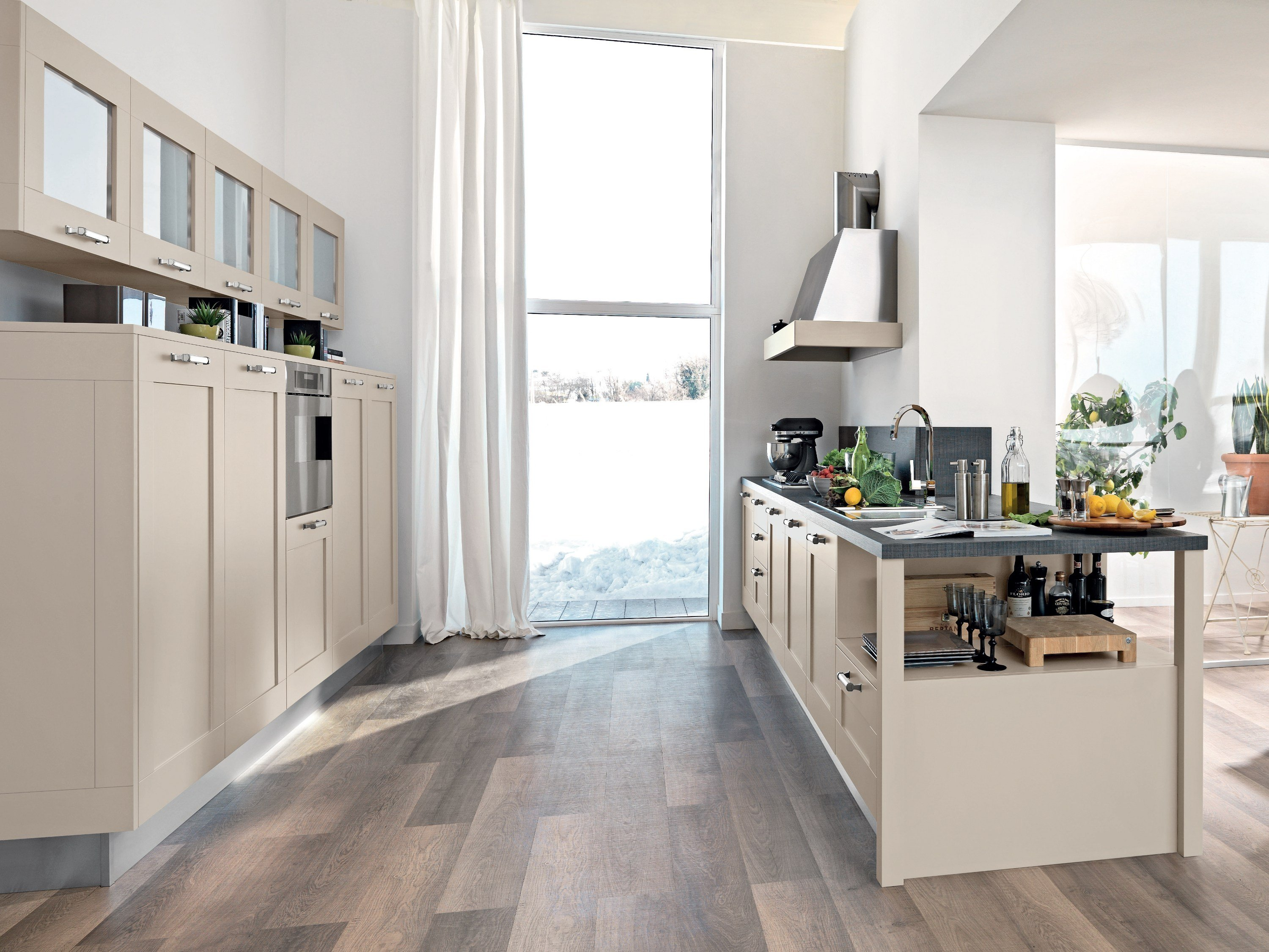 GALLERY | Cuisine en frêne By Cucine Lube design Studio Ferriani