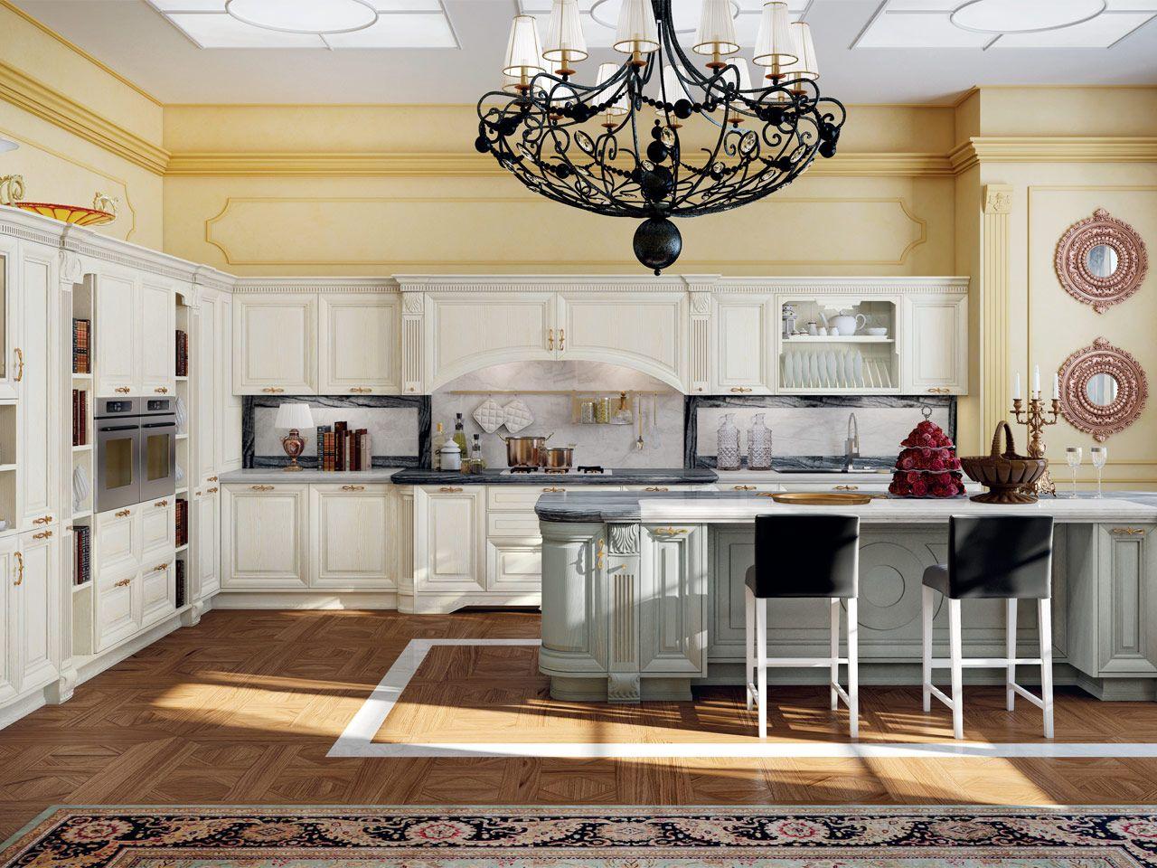 PANTHEON | Cucina con maniglie By Cucine Lube