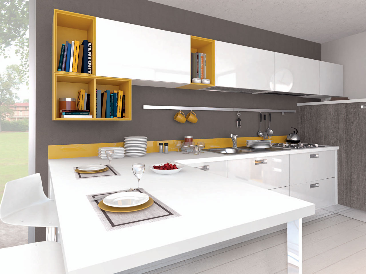 NOEMI | Cucina componibile By Cucine Lube