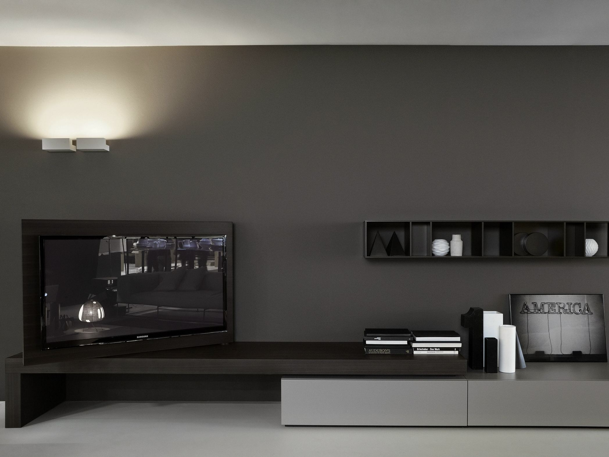 Tv lowboard modern  TV-Lowboard MODERN FLAG By Porro Design Piero Lissoni