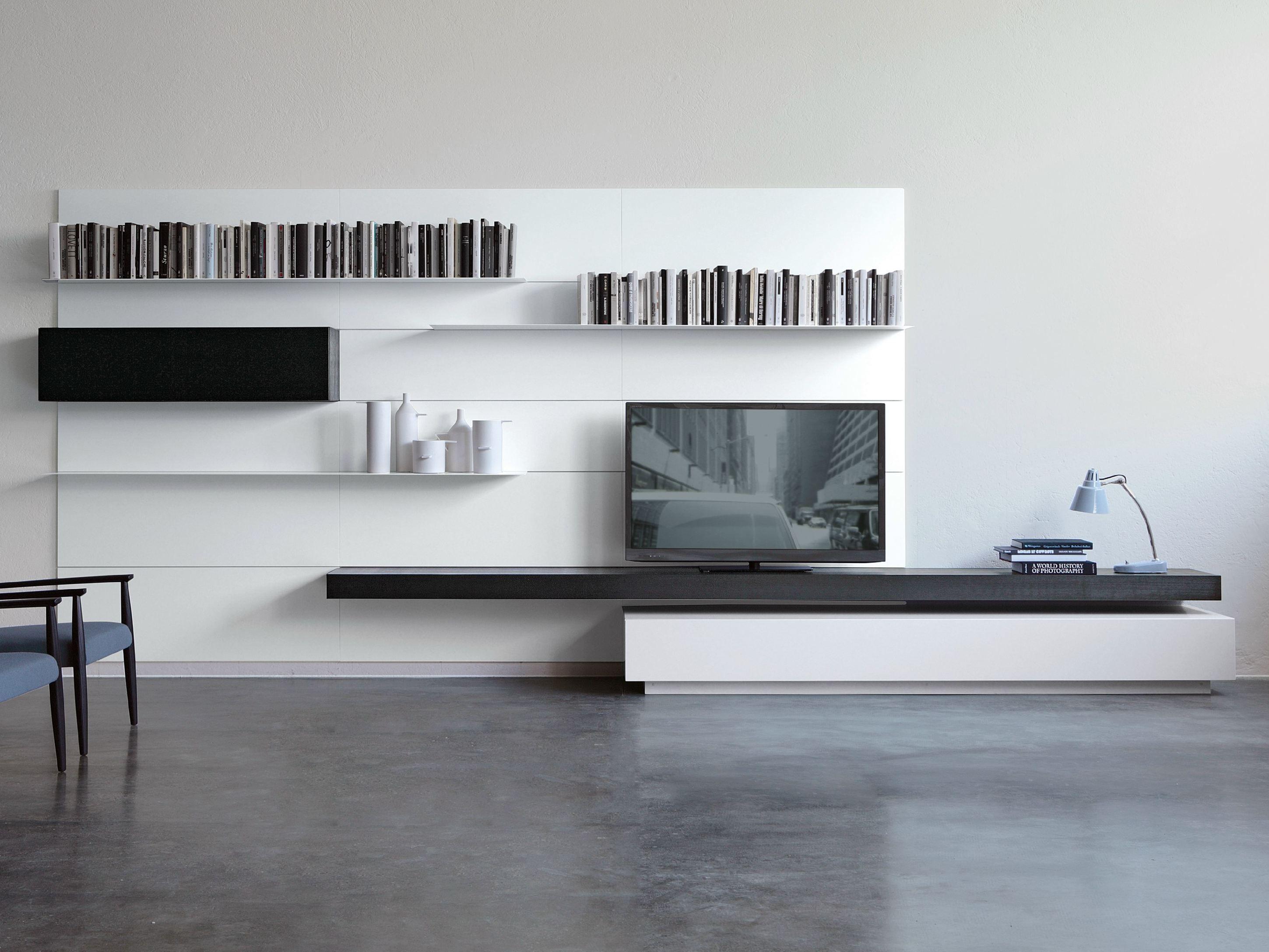 wall-mounted storage wall load it by porro design piero lissoni, Wohnzimmer dekoo