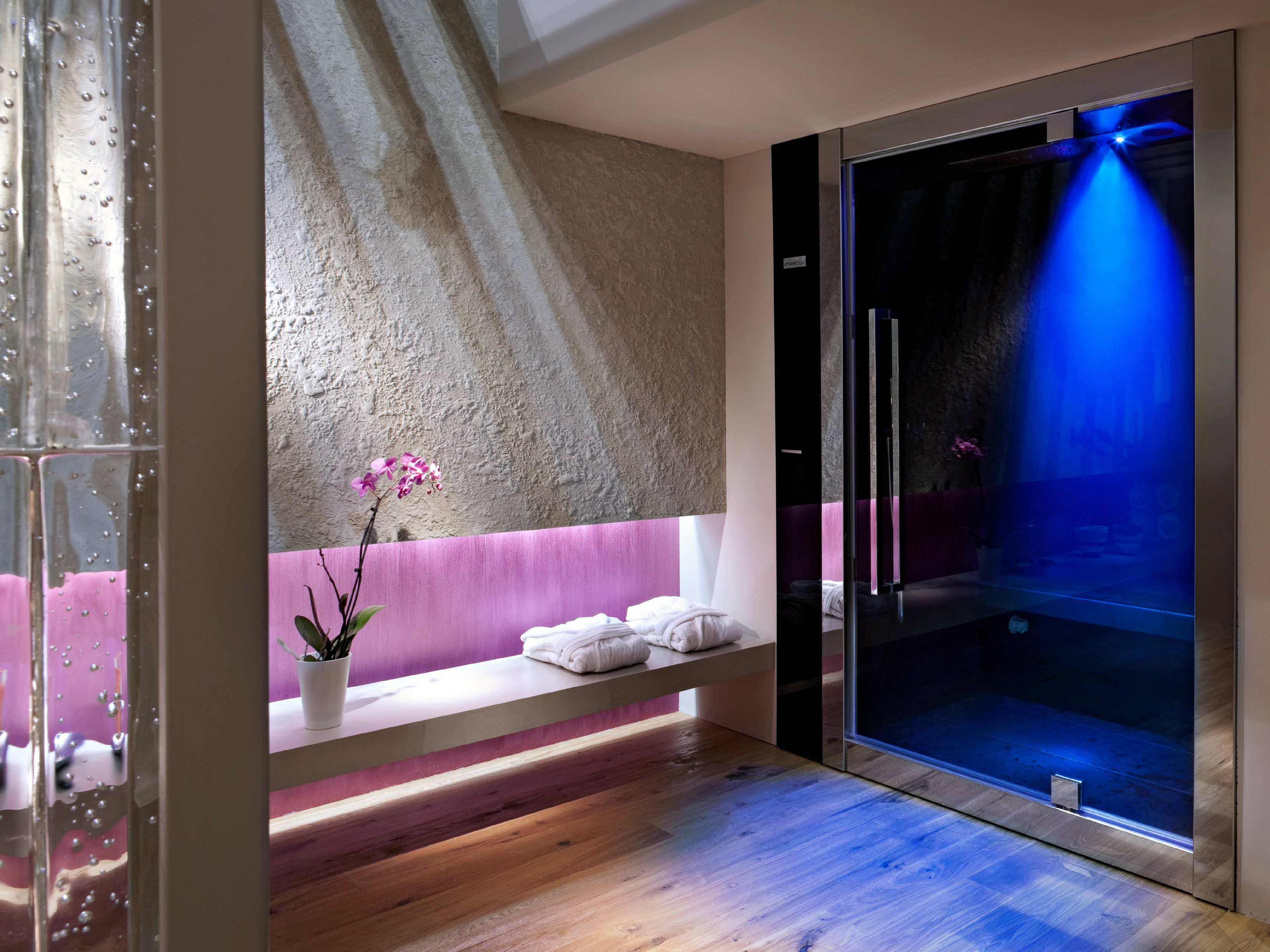 Bagno turco per cromoterapia sweet spa by starpool design - Cromoterapia vasca bagno ...