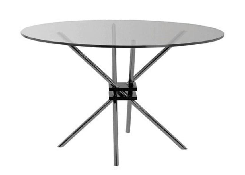 INTRECCIO | Tavolo in legno e vetro Collezione Forme By Matrix ...