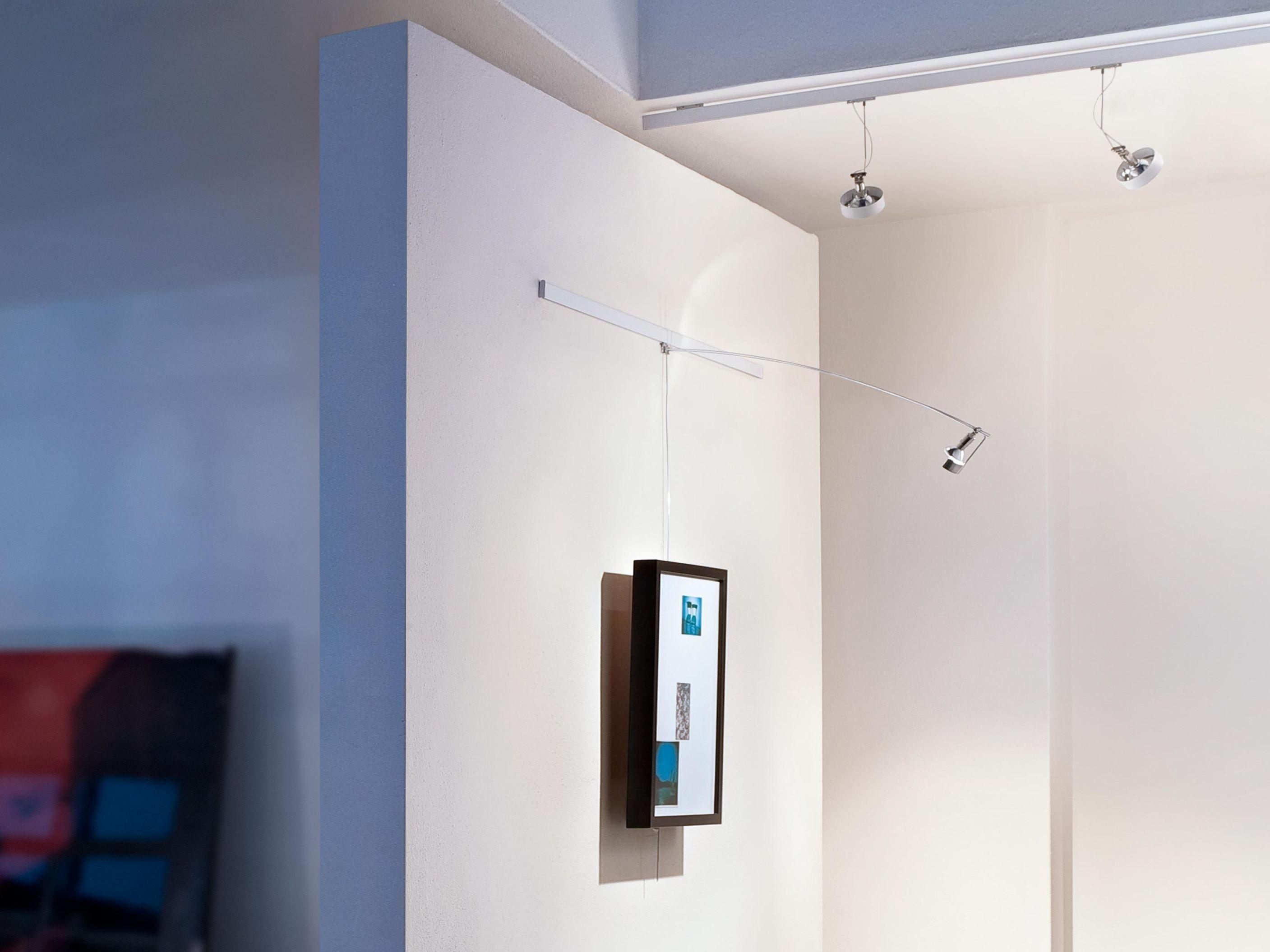 Lampada da parete a led per quadri lightlight wall by for Quadri a parete
