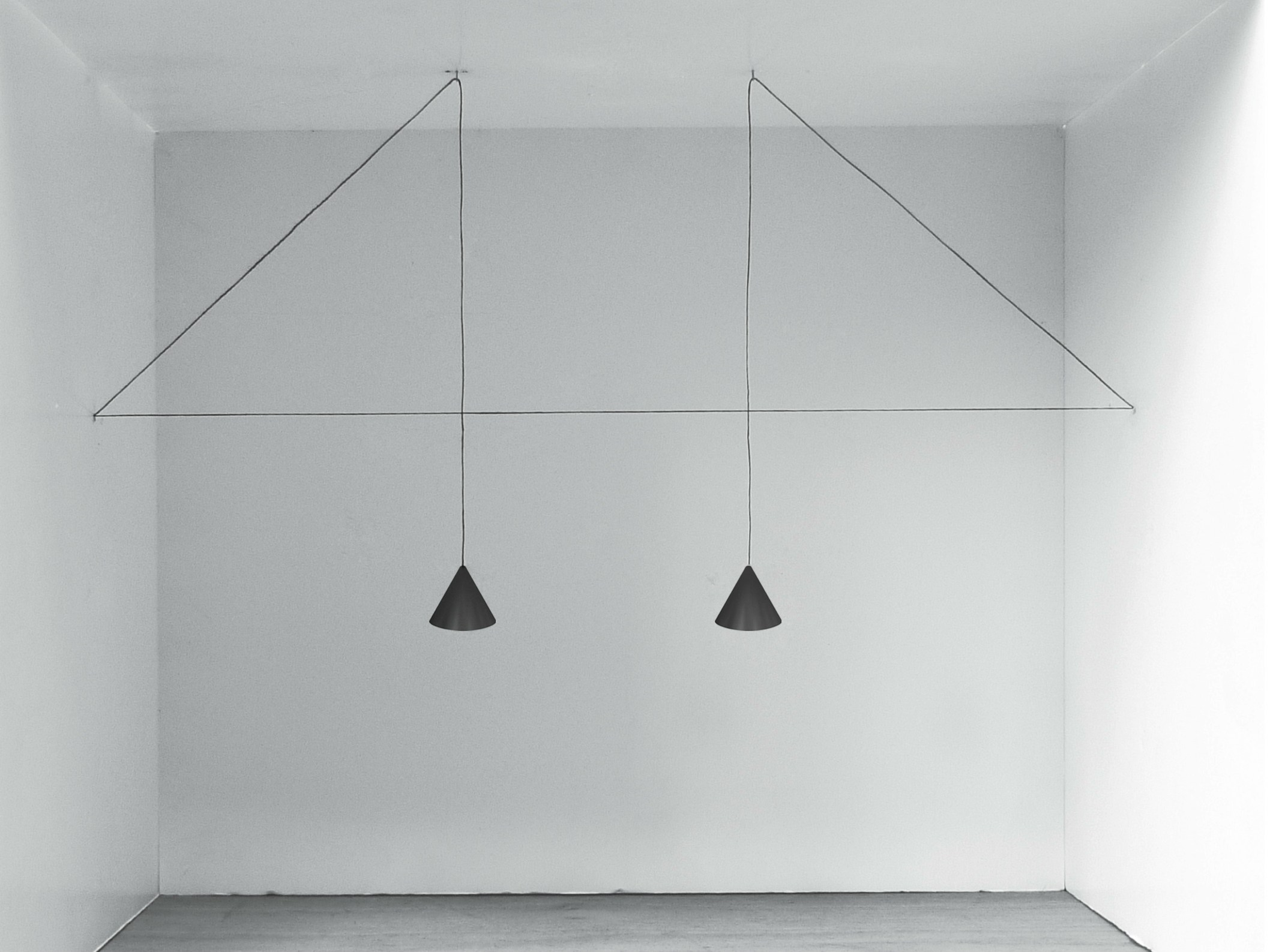 Led Pendant Lamp String Light Cone Head By Flos Design