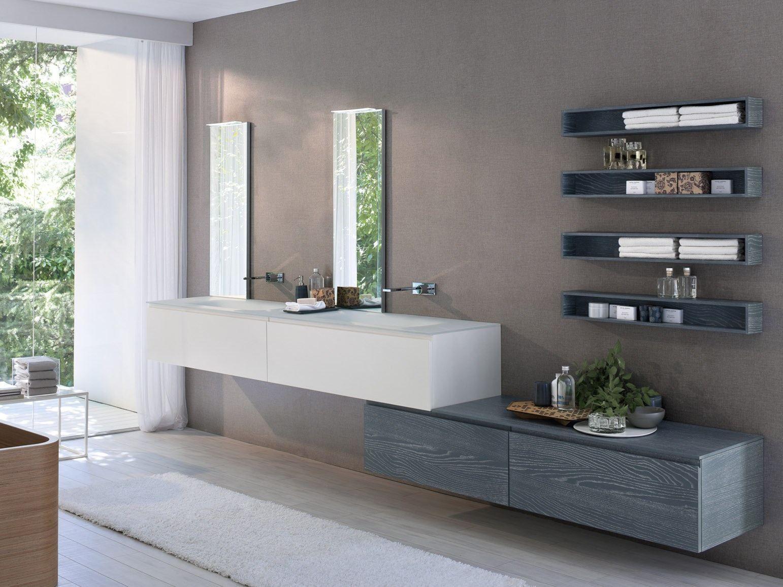 arredo bagno completo comp msp09 by idea - Modelli Bagni Moderni