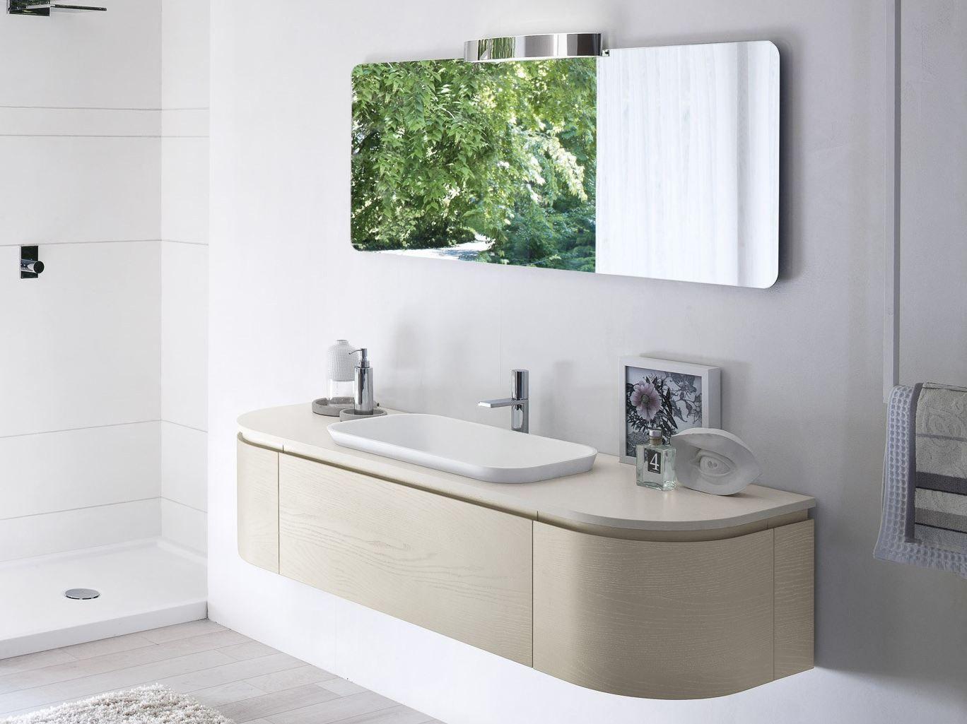 smyle comp 01 | mobile lavabo by idea - Arredo Bagno Pozzuoli