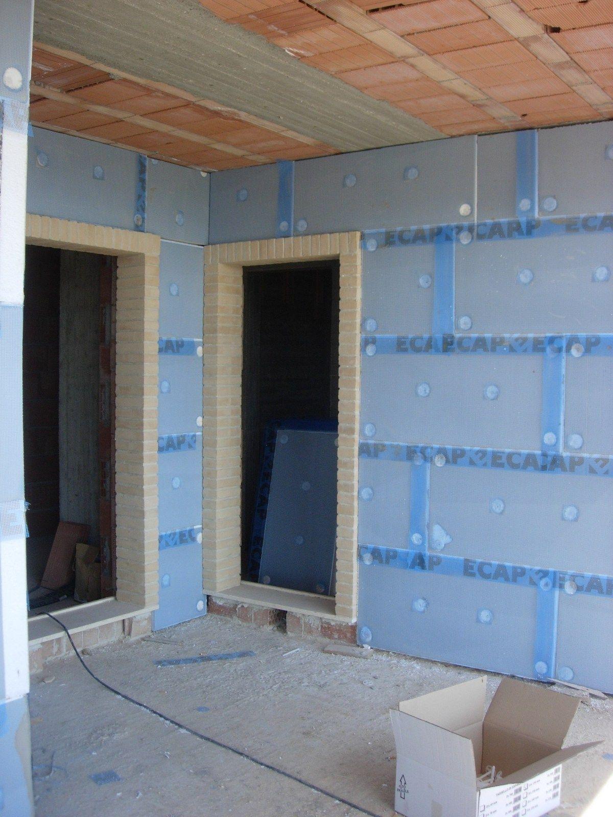 panneau thermo isolant en polyur thane expans ecap gt by. Black Bedroom Furniture Sets. Home Design Ideas