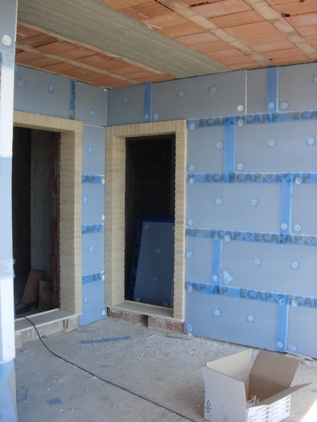 panneau thermo isolant en polyur thane expans ecap gt by edilteco. Black Bedroom Furniture Sets. Home Design Ideas