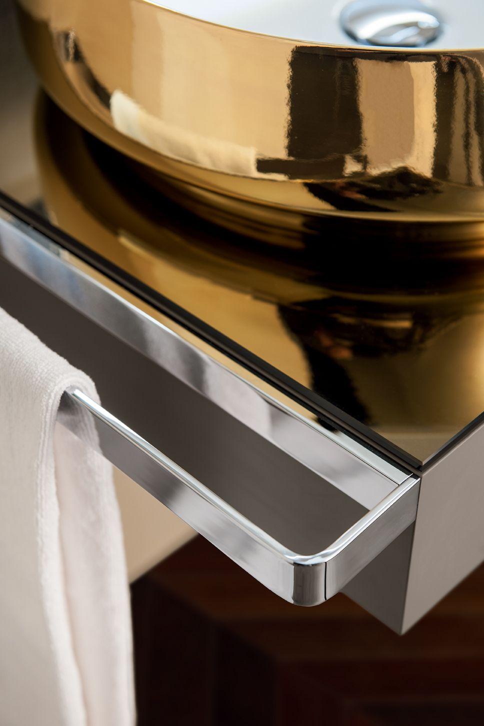Sectional vanity unit qamar composizione 2 qamar collection by inda design sergio brioschi - Inda bagno catalogo ...
