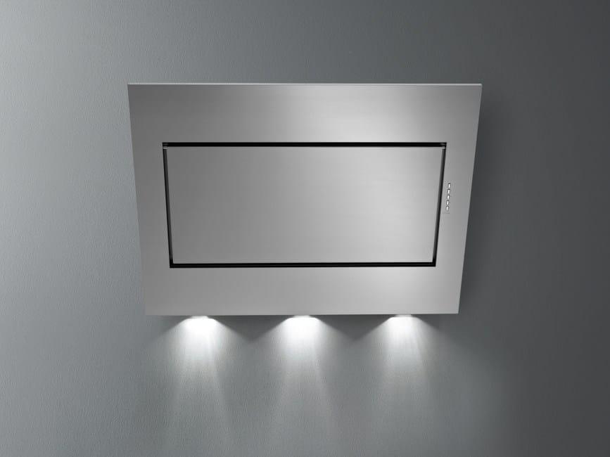 Cappa a carboni attivi ad angolo in acciaio inox ELIOS By Falmec