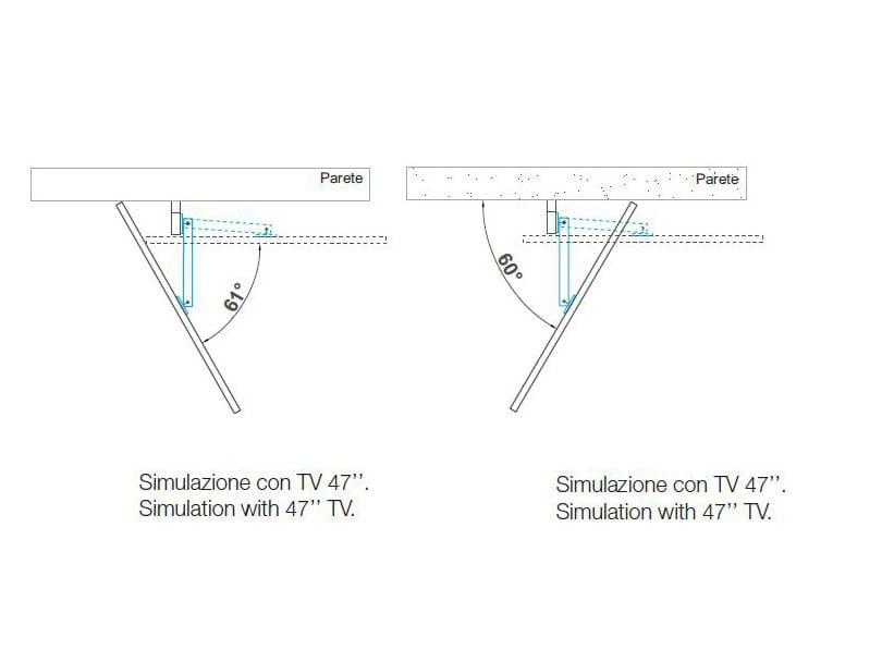 adjustable tv cabinet rack flag by fimar - Soggiorno Fimar 2