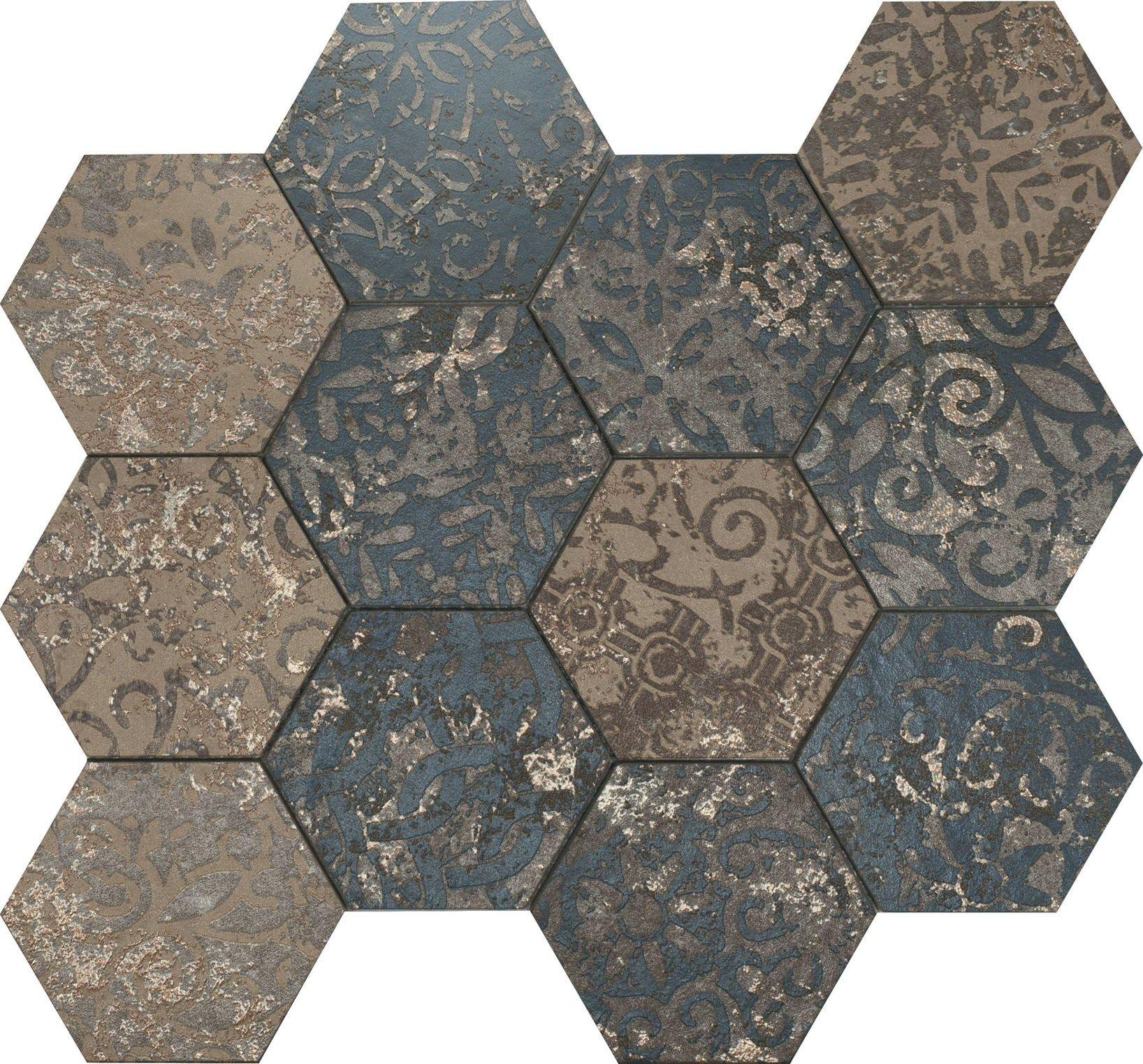 Risultati immagini per all over supergres mosaico esagona