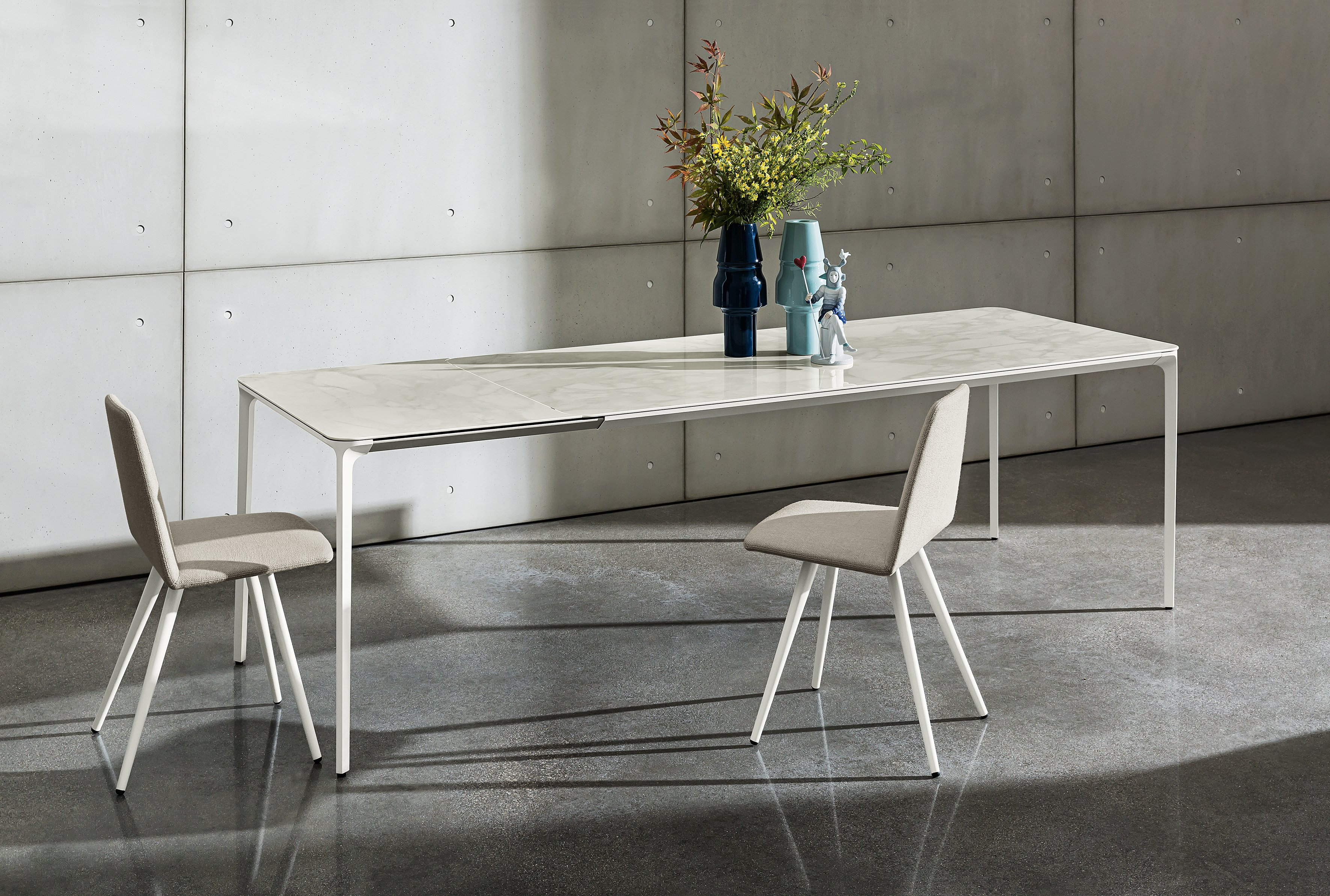 Slim Extensible Ceramic Table Slim Collection By Sovet