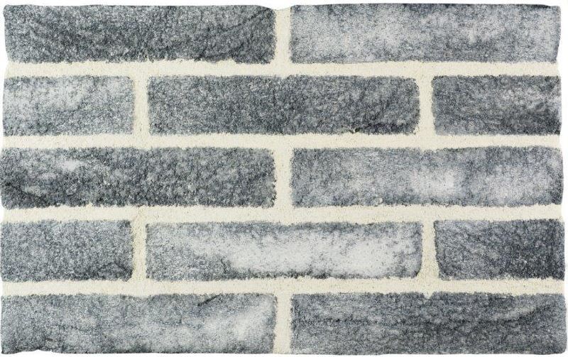 SMOKED BRICK - Mattone faccia vista LOFB con malta MGBW