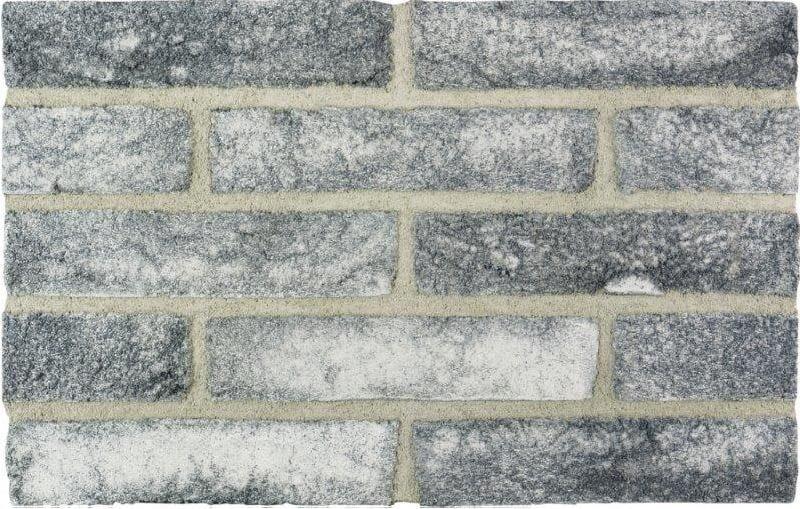 SMOKED BRICK - Mattone faccia vista LOFB con malta MGGG
