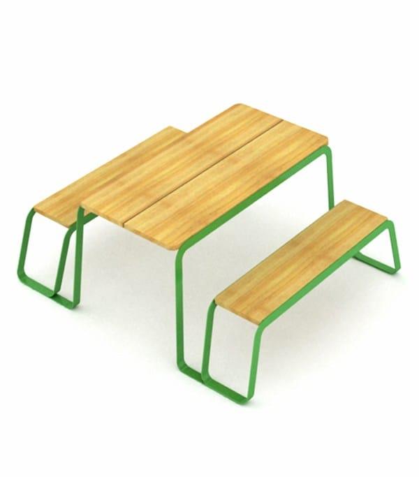 ral 6018 - natural wood