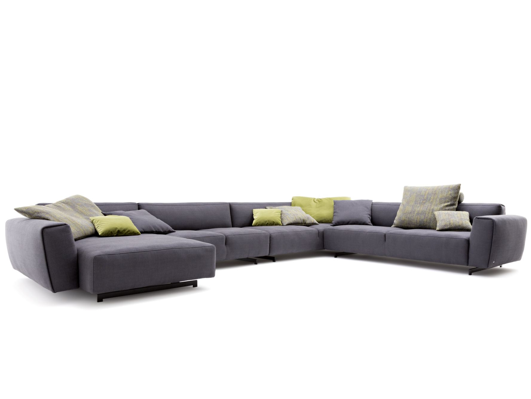Rolf benz recamiere  EGO | Sofa with chaise longue Ego Collection By Rolf Benz design ...
