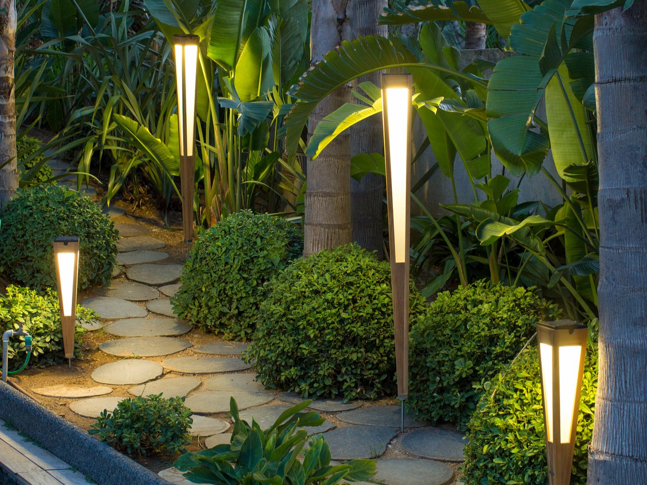 Tinka Bollard Light Tinka Collection By Les Jardins